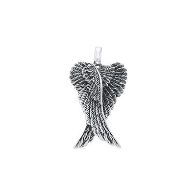 Angel Wings Silver Pendant TPD2934