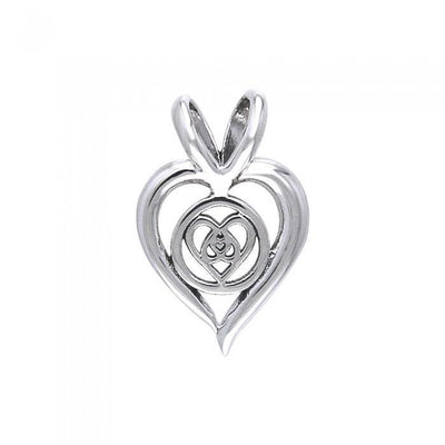 Hearts Entwined Pendant TPD301