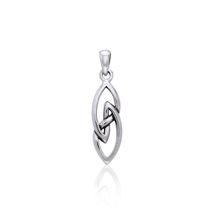 The Celtic Knot Sterling Silver Pendant TPD3031