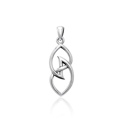 The Celtic Knot Sterling Silver Pendant TPD3032