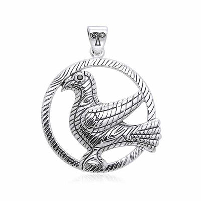 Mickie Mueller Odins Raven Pendant TPD3181 Pendant