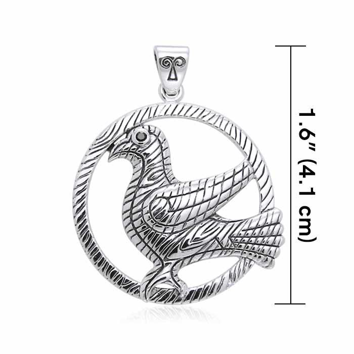 Mickie Mueller Odins Raven Pendant TPD3181
