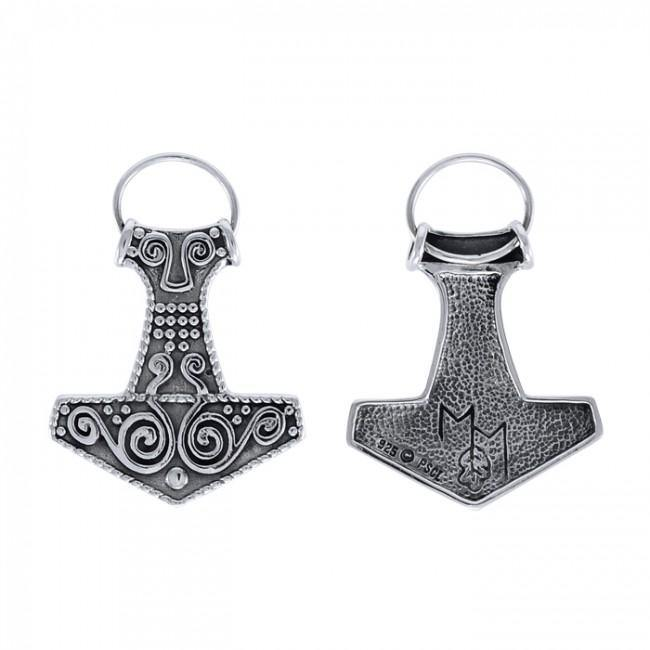 Thors Hammer Jewelry Sterling Silver TPD3182