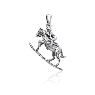 Tevis Cup Equestrian Pendant TPD3269