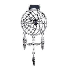 Ted Andrews Dream Catcher Spider Pendant TPD338