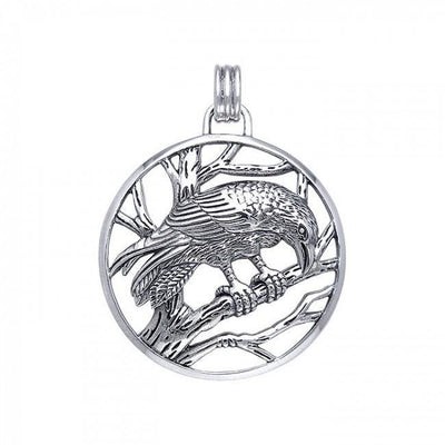 Ted Andrews Raven Pendant TPD350