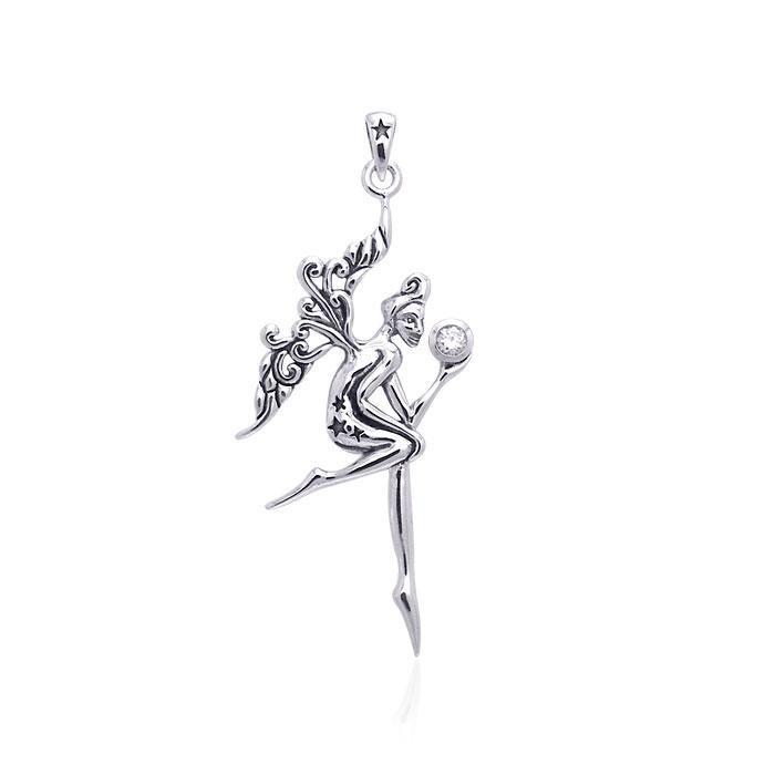 Fairy Oracle Silver Pendant TPD3532