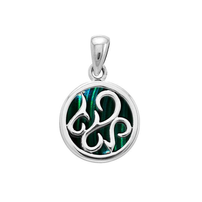 Tendril Cabochon Filigree Small Pendant TPD3574