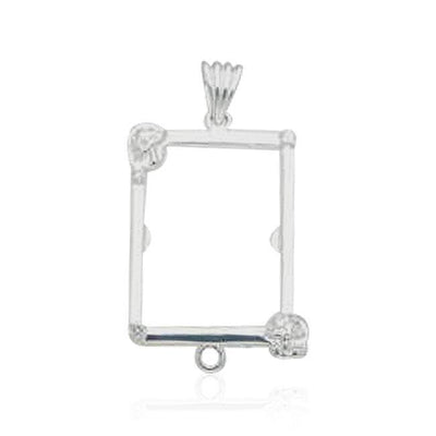 Picture Frame Silver Pendant by Cindy Thorrington TPD364