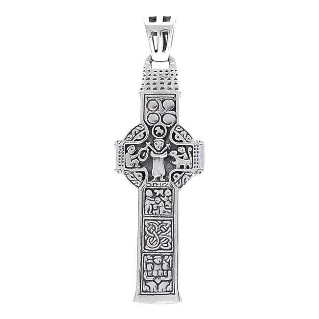 Celtic Cross Silver Pendant TPD3725