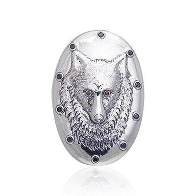 Wolf Pendant TPD398
