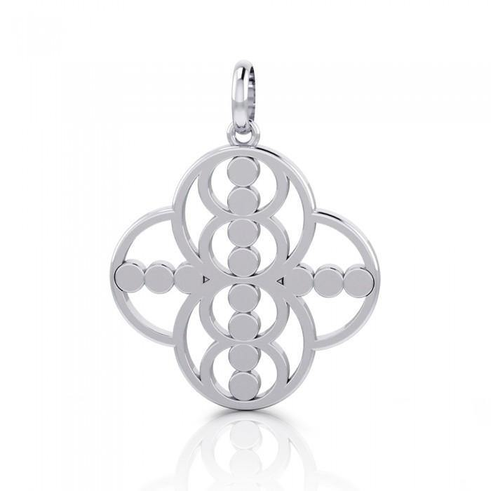 Energy Sterling Silver Hollow Pendant