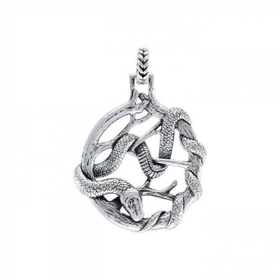 Ted Andrews Snake Pendant TPD3988