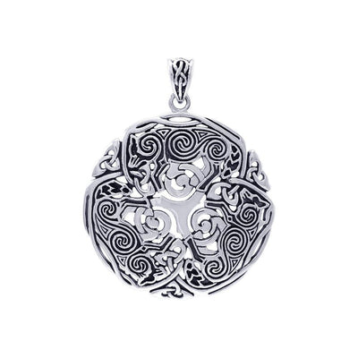 Brigid Ashwood Celtic Wolf Pendant TPD4004