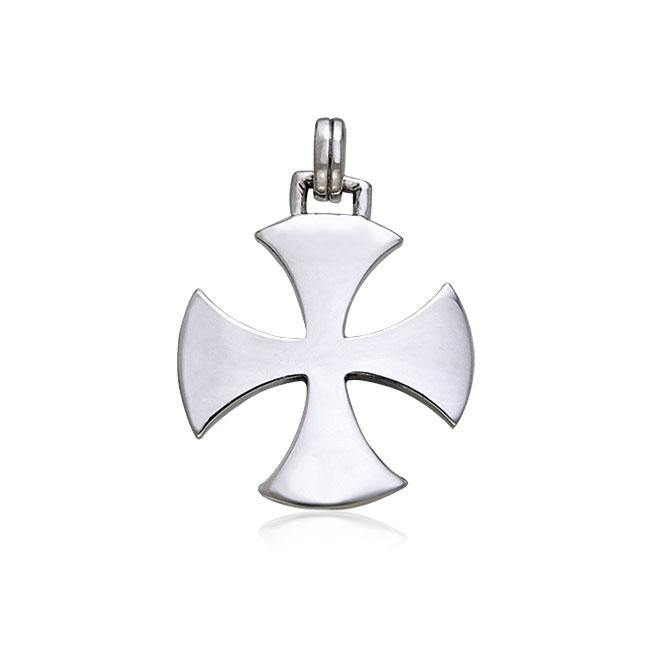 Alisee Cross Of France Silver Pendant TPD407