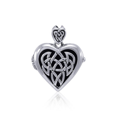 Celtic Heart Aroma Locket TPD4129