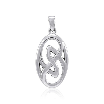 Celtic Knotwork Sterling Silver Pendant TPD4134