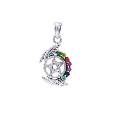 Gemstone Crescent Moon with The Star TPD4256
