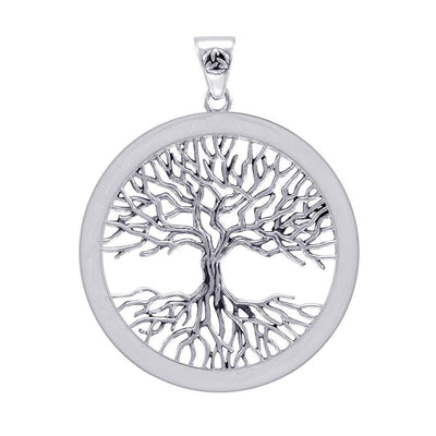Mickie Mueller Wiccan Tree of Life Silver Pendant TPD4304 Pendant