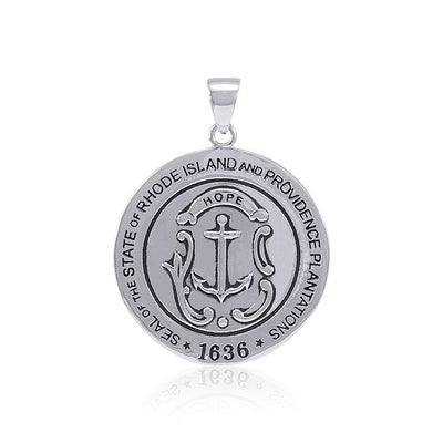 Seal of State of Rhode Island and Providence Plantations  TPD4452 Pendant