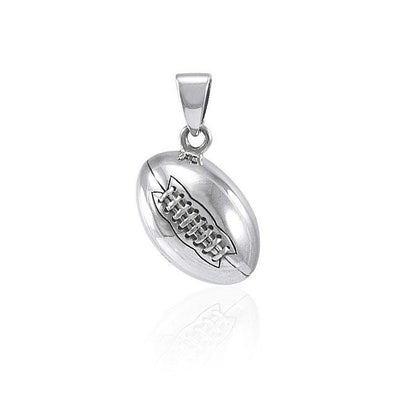 Football Silver Pendant TPD4469
