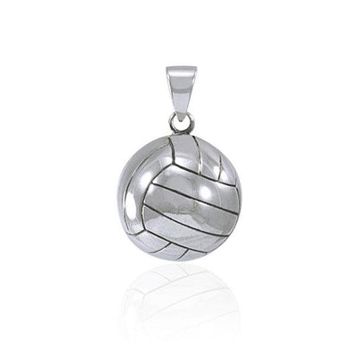 Volleyball Silver Pendant TPD4470