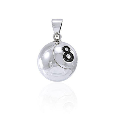 Pool Ball Silver Pendant TPD4471