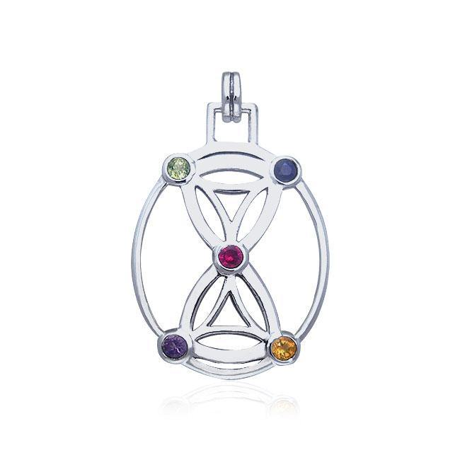 Hourglass Flower Of Life TPD449 Pendant