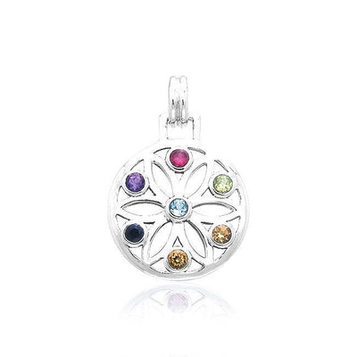 Elemental Flower of Life Pendant TPD450 Pendant