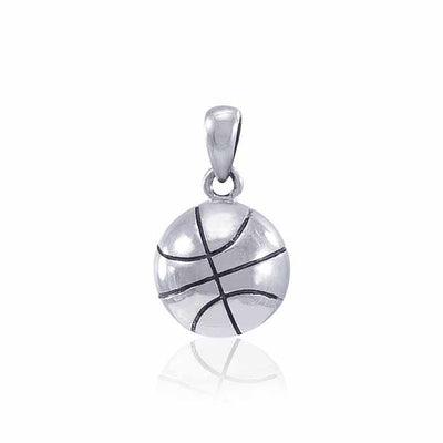 Basketball Silver Pendant TPD4524