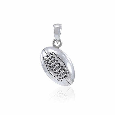 Football Silver Pendant TPD4529
