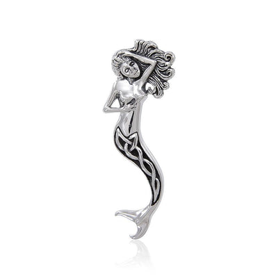 Celtic Mermaid Pendant TPD4618