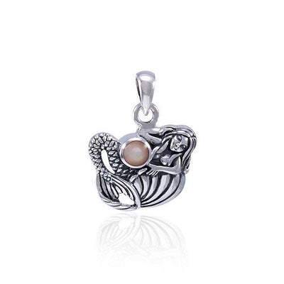 Mermaid Gemstone Pendant TPD4623