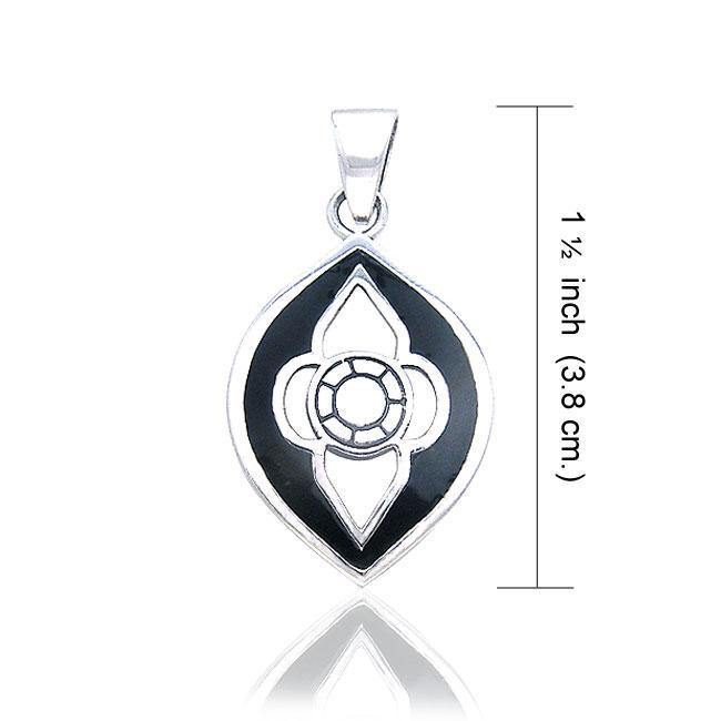 The Lady's Window Silver Celtic Pendant TPD468