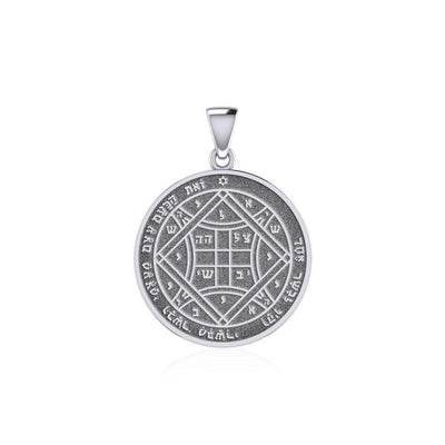Solomon Seal of Love Silver Pendant TPD5237