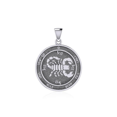 Fifth Pentacle of Mars Silver Pendant TPD5238 Pendant