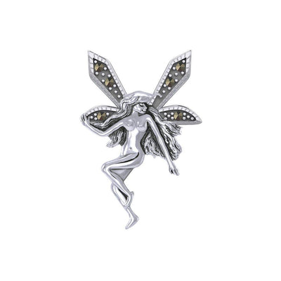 The Little Fairy Silver Pendant with Marcasite TPD5370