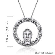 The Buddha's Face TPD793 Pendant