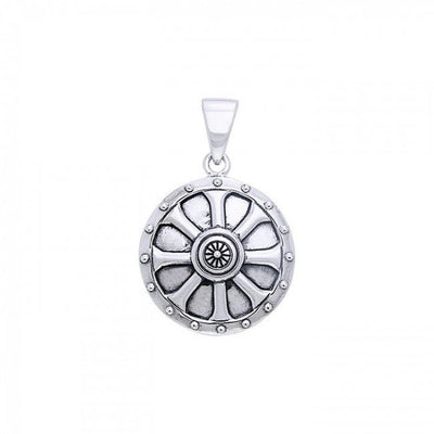 Viking Shield Pendant TPD862