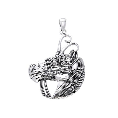 Viking Warrior Horse Pendant TPD973