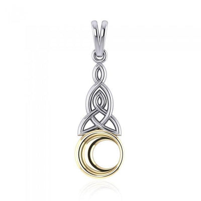 Celtic Moon Pendant TPV1358