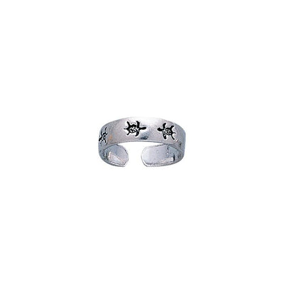 Silver Turtle Toe Ring TR1202