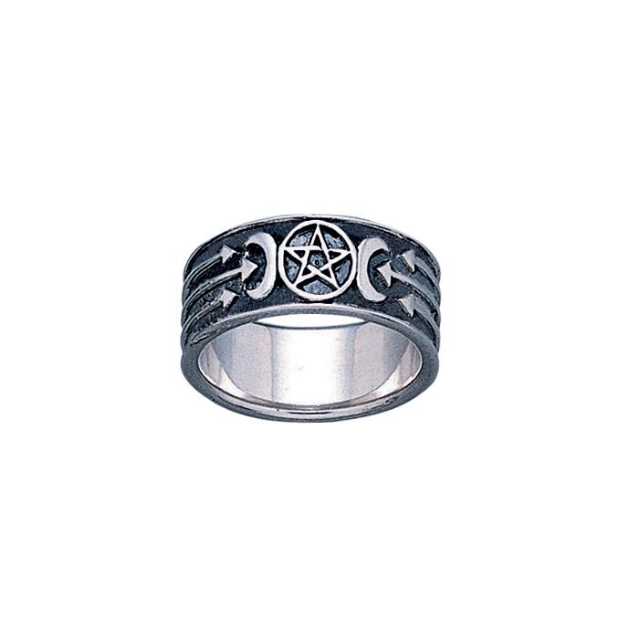 Silver The Star Ring TR1688
