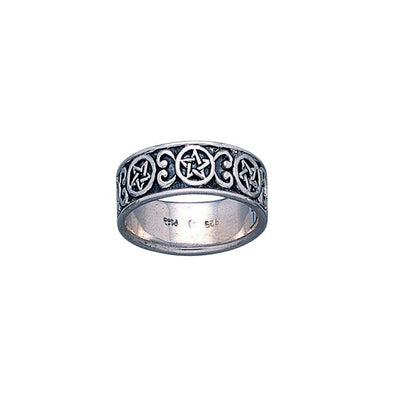 Silver The Star Ring TR1689