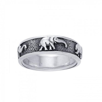 Elephant Spinner Ring TR1692