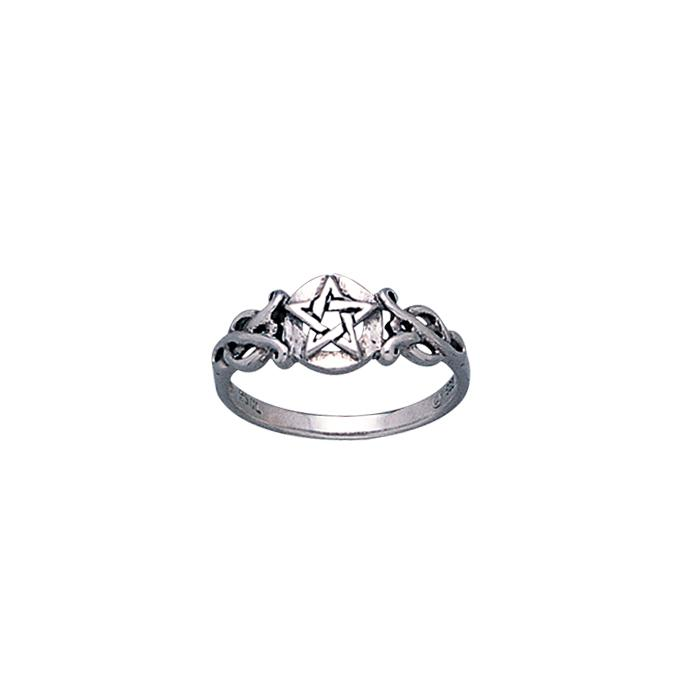 Silver The Star Ring TR1745