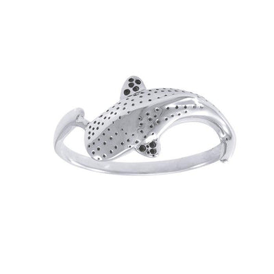 Whale Shark Sterling Silver Ring TR1765 Ring