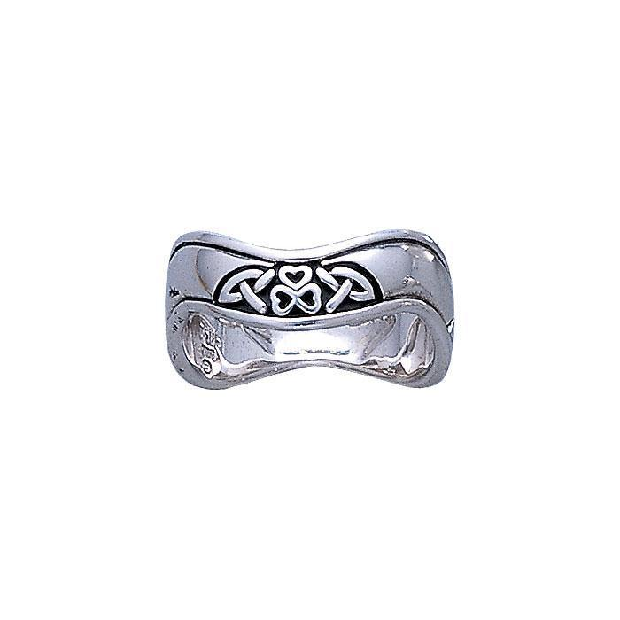 Celtic Knotwork Silver Ring TR3312