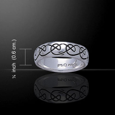 Silver Knots Ring TR3451