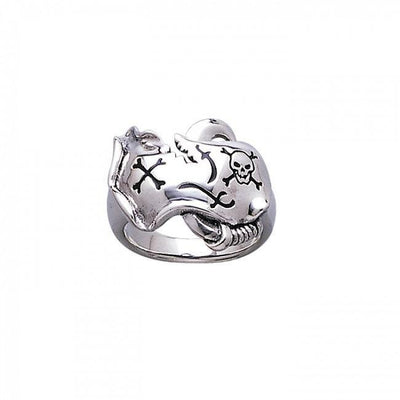 Skull Map Ring TR3678